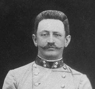 Franz Conrad von Hötzendorf - Chief of Staff, 1906