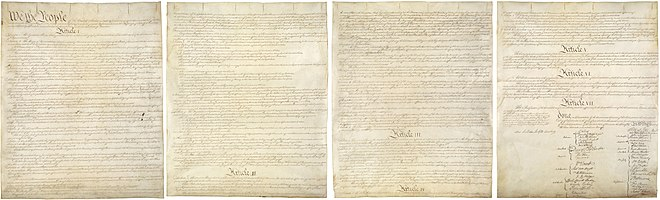 Timeline of drafting and ratification of the United States ...