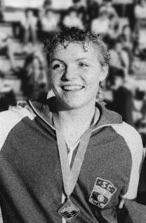 Cornelia Sirch East German swimmer