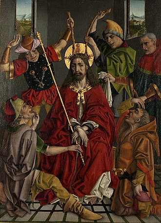 El Greco Museum, Toledo - Image: Coronación de espinas e improperios (Museo de El Greco, Toledo)
