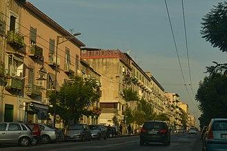 Secondigliano - Corso Secondigliano in 2017