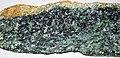 Corundum amphibolite (Chunky Gal Complex, Ordovician, ~458 Ma; Chunky Gal Mountain, Blue Ridge, North Carolina, USA) 3.jpg