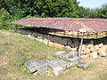 Costesti Cetatuie Dacian Fortress 2011 - Tower House Two-1.jpg