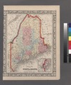 County map of the State of Maine; Portland Harbor and vicinity (inset). NYPL1510797.tiff