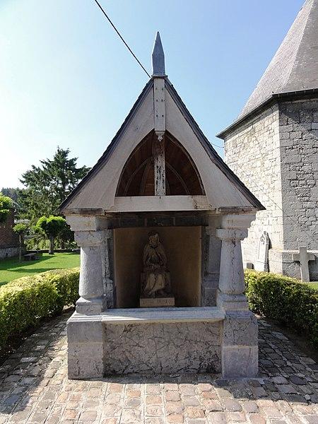 Cousolre (Nord, Fr) chapelle Christ aux liens (chapelle du Bon Dieu de Pitié)