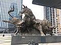 Cow sculpture outside Shenzhen Stock Exchange 1 (27015443817).jpg