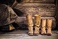 Cowboy shoes in a cabin (Unsplash).jpg