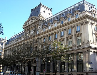 Crédit Agricole - The headquarters of Crédit Lyonnais, which was acquired by the Crédit Agricole Group in 2003