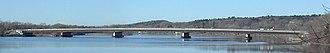 Crescent Bridge - Image: Crescent Bridge, Erie Canal, east side