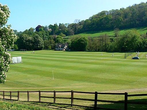 Cricket field, near Monkton Combe - geograph.org.uk - 422702