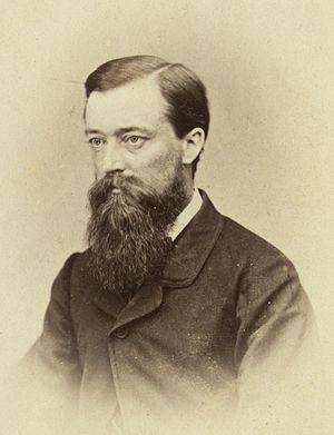 Crosbie Ward - Crosbie Ward in April 1867