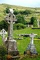 Crosses in graveyard near Glenties - geograph.org.uk - 1363714.jpg