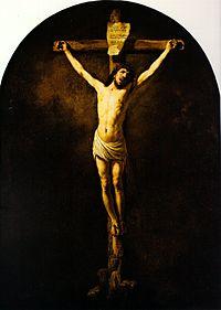 Crucifixion by Rembrandt (1631, S.Vincent du Mas-d'Agenais).jpg