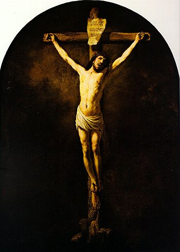 Christ On The Cross Rembrandt Wikipedia