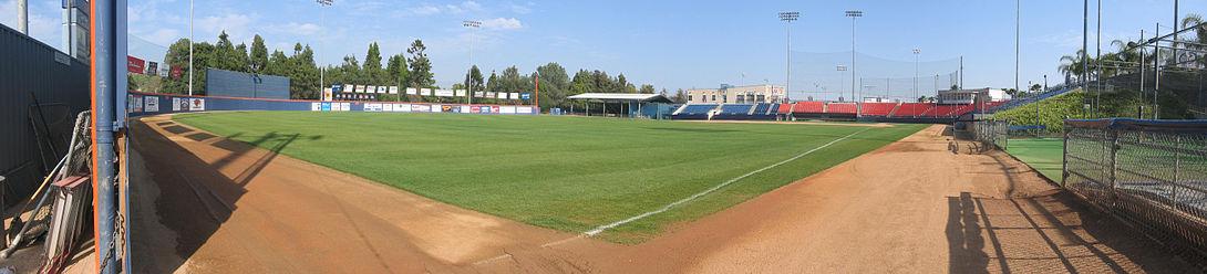 Goodwin Field, home to CSU Fullerton's baseball team..