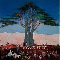 Csontváry Kosztka, Tivadar - Pilgrimage to the Cedars of Lebanon - Google Art Project.jpg