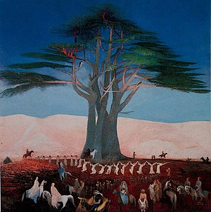 Pilgrimage to the Cedars in Lebanon - Image: Csontváry Kosztka, Tivadar Pilgrimage to the Cedars of Lebanon Google Art Project