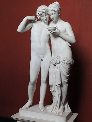 Cupid and Psyche (Thorvaldsen) - Cupid and Psyche