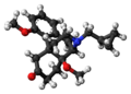 Cyprodime molecule ball.png