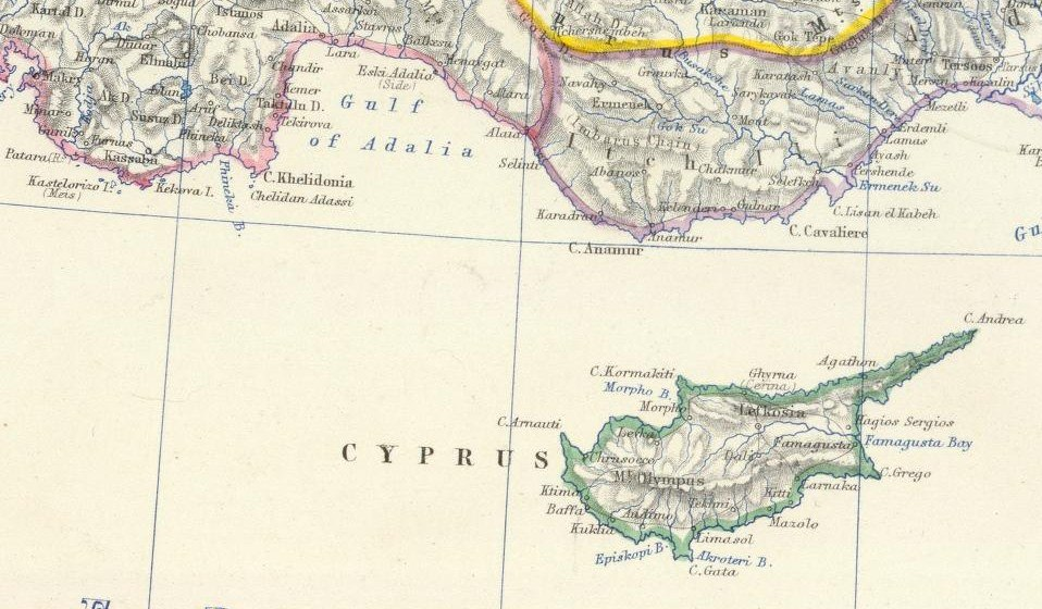 Cyprus and Asia Minor South Coast