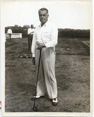 Cyril Tolley - Tolley in 1930