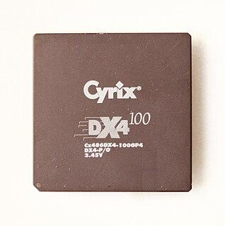 Cyrix Cx486 microprocessor