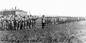 Czechoslovakia - Czechoslovak troops in Vladivostok (1918)