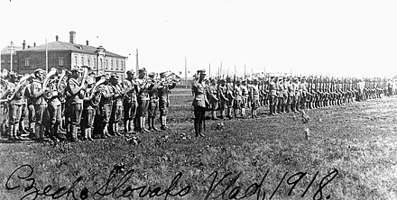 Czechoslovak troops in Vladivostok (1918) Czech Troops.jpg