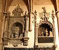 D. Fadrique y D. Pedro de Acuña, condes de Buendía; iglesia de Sta. María, Dueñas (Palencia).jpg