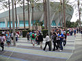D23 Expo 2011 - fans line up outside for the Marvel panel (6080859787).jpg