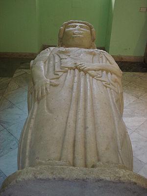 Regional Archeological Museum Antonio Salinas - Sarcophagus of Pizzo Cannita