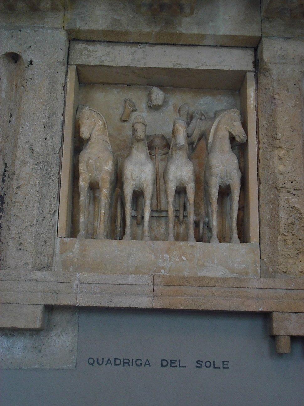 DSC00400 - Tempio C di Selinunte - Quadriga di Helios - Sec. VI a.C. - Foto G. Dall'Orto
