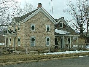 Fairview, Utah - Pioneer-era house in Fairview