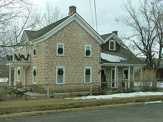 Fairview, Utah - Pioneer-era house in Fairview, December 2004