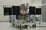 DSCOVR in Astrotech's payload processing facility, Titusville (KSC-2014-4577).jpg
