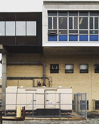 New York City Department of Sanitation - Image: DSNY Central Repair Shop Facade