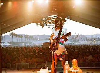 Devendra Banhart - Banhart performs at the 2009 Coachella Festival.