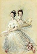 Dagmar and Alexandra by Winterhalter (1868, priv.coll.).jpg