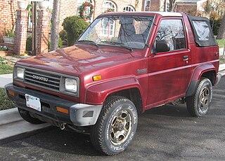Daihatsu Rocky (F300) Motor vehicle