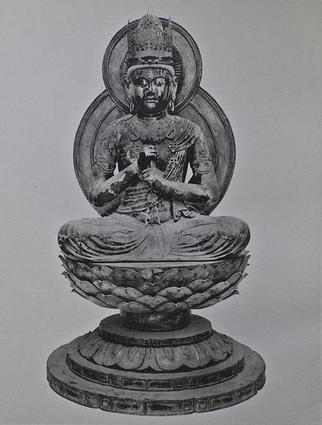 File:Dainichi Nyorai Unkei Enjoji 1.jpg - Wikimedia Commons