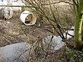 Dam and shelter, Rastrick - geograph.org.uk - 348157.jpg