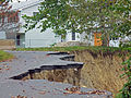 Damage from Hurricane Irene flooding to Butternut Drive, New Windsor, NY.jpg
