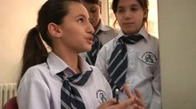File:Damascus school children talk about environmental responsibilities.webm