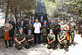 Damien Duff and his brother Sergeant Gerry Duff visit the troops of the Irish 106 Battalion in Tibnine Lebanon (7514381440).jpg