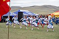 """Dancers in Traditional Outfits Stage a Display as Secretary Kerry Attends a """"Mini-Nadaam"""" in a Field Outside Ulaanbaatar (27443914762).jpg"""