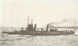 1.-class torpedo boat - The Danish torpedo boat Søløven
