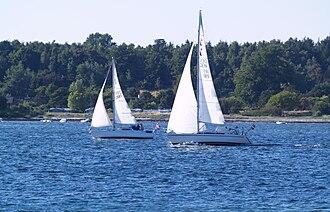Frederikssund Municipality - Image: Danish sailboats