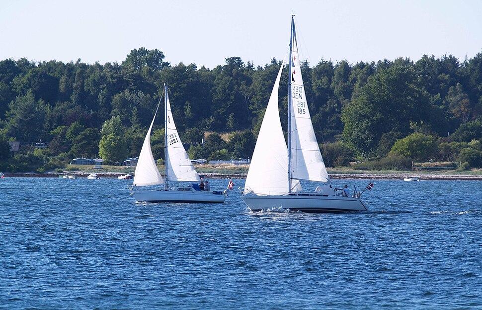 Danish sailboats