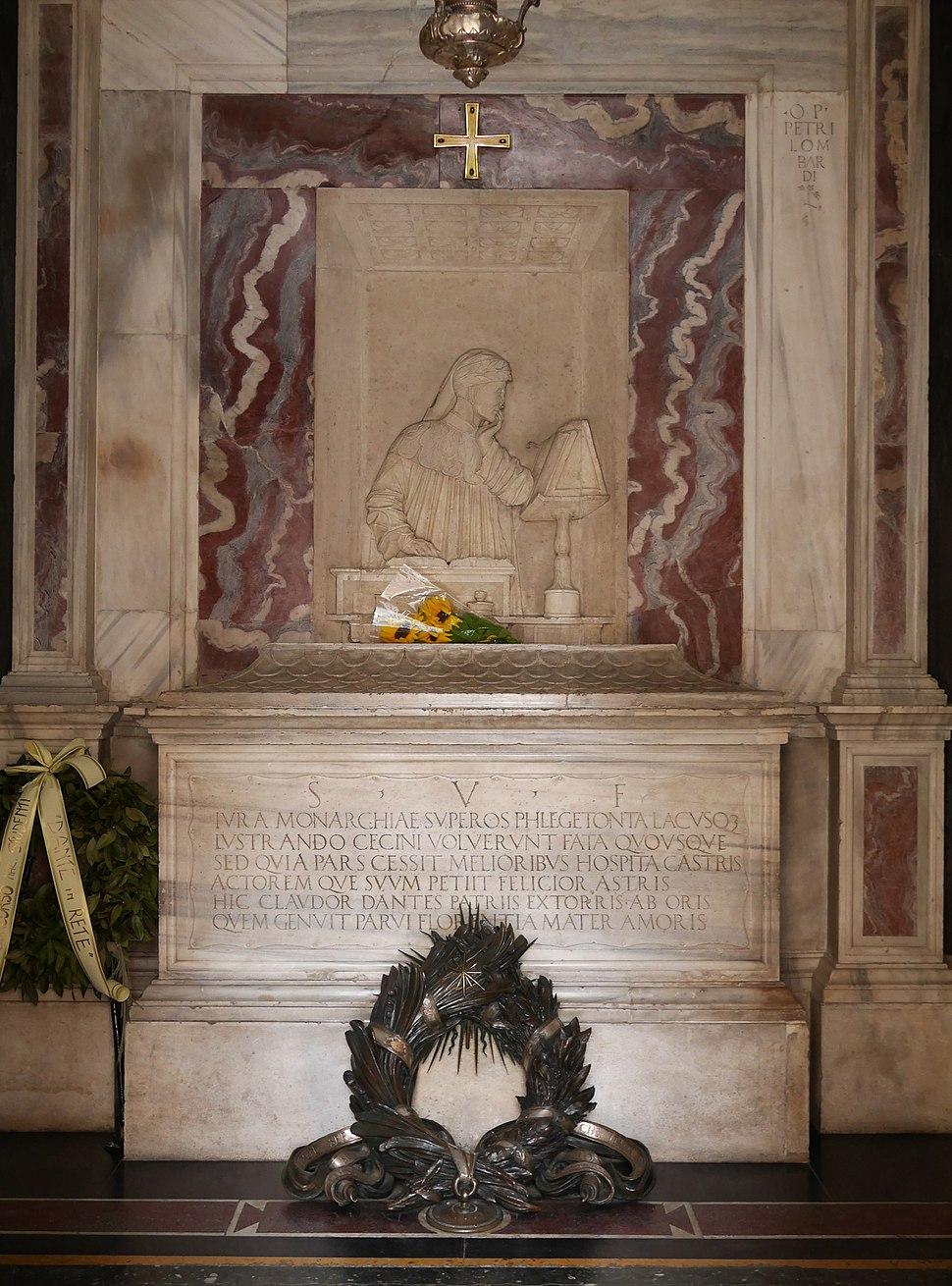 Dante Alieghri tomb in Ravenna (interior)