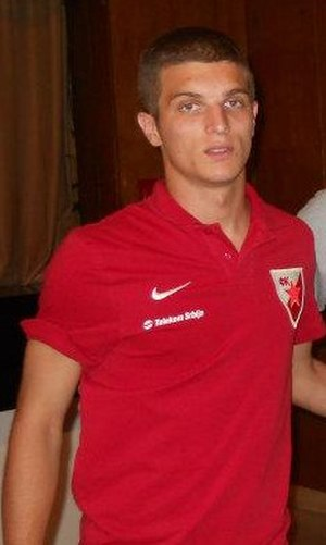 Darko Lazović - Lazović with Red Star in 2012